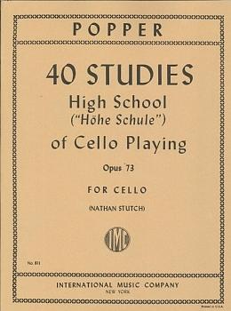 GYS00073634 ポッパー : チェロ奏法のための上級教本 Op.73