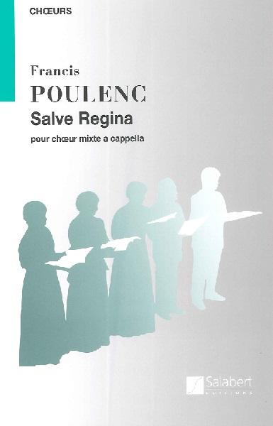 輸入 混声 プーランク Salve Regina