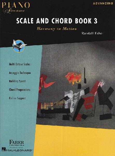輸入 ピアノ・アドベンチャー SCALE AND CHORD BOOK 3