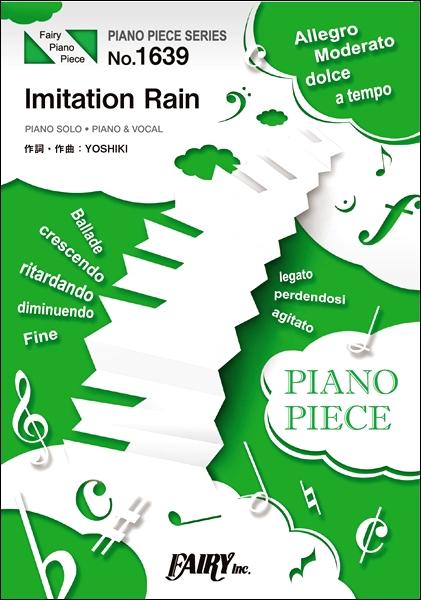 PP1639ピアノピース Imitation Rain/SixTONES
