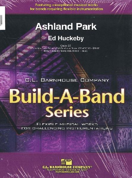 MUFB381 輸入 アッシュランド・パーク序曲(エド・ハックビー) (フレックスバンド)【Ashland Park】