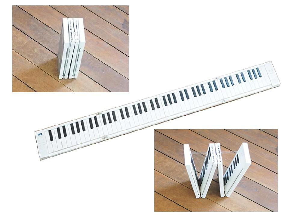 折りたたみ式電子ピアノ/MIDIキーボード ORIPIA88 付属品付【特価品】